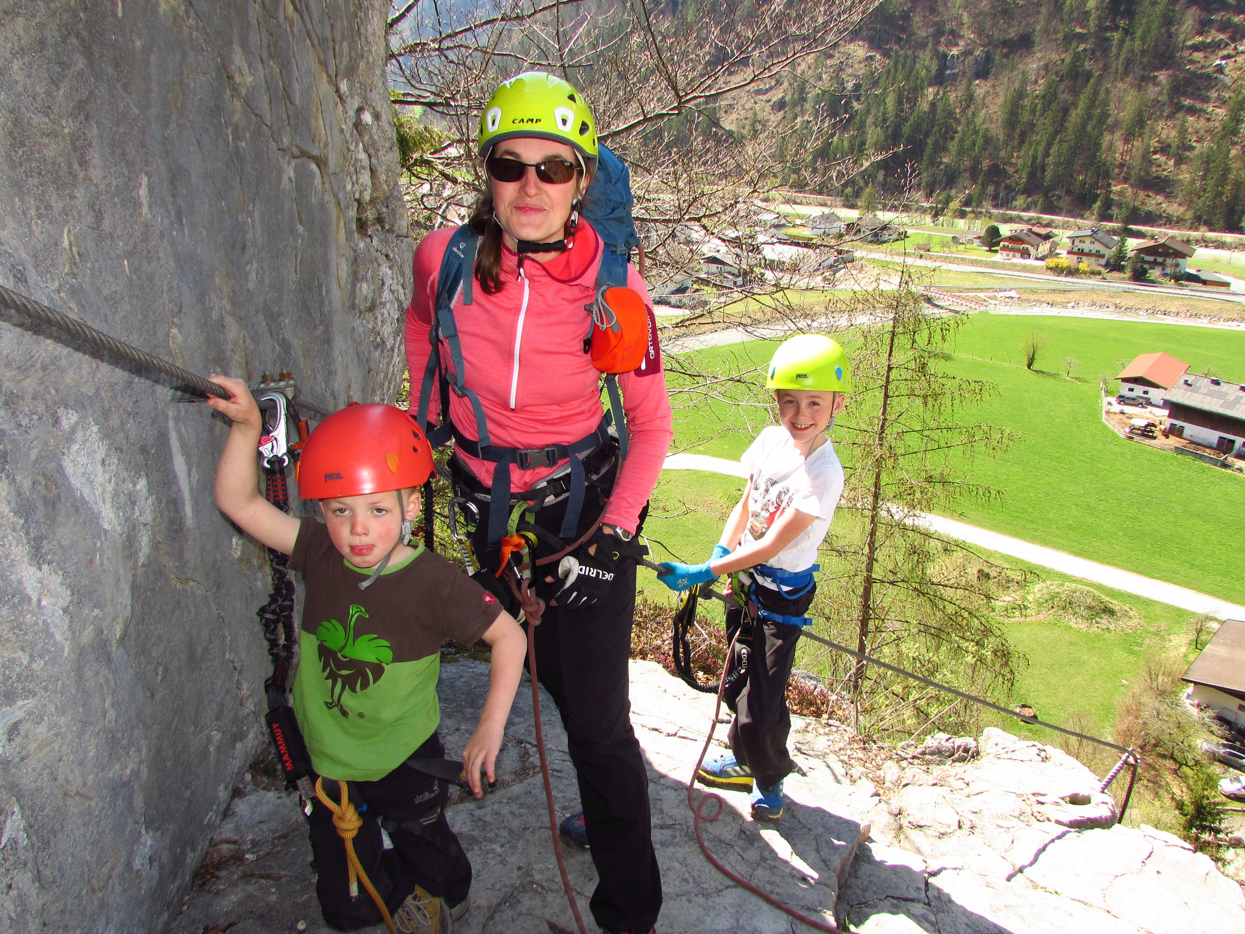 Auf unbestimmte Zeit verschoben! Klettersteige für Anfänger und Fortgeschrittene in Weißbach bei Lofer