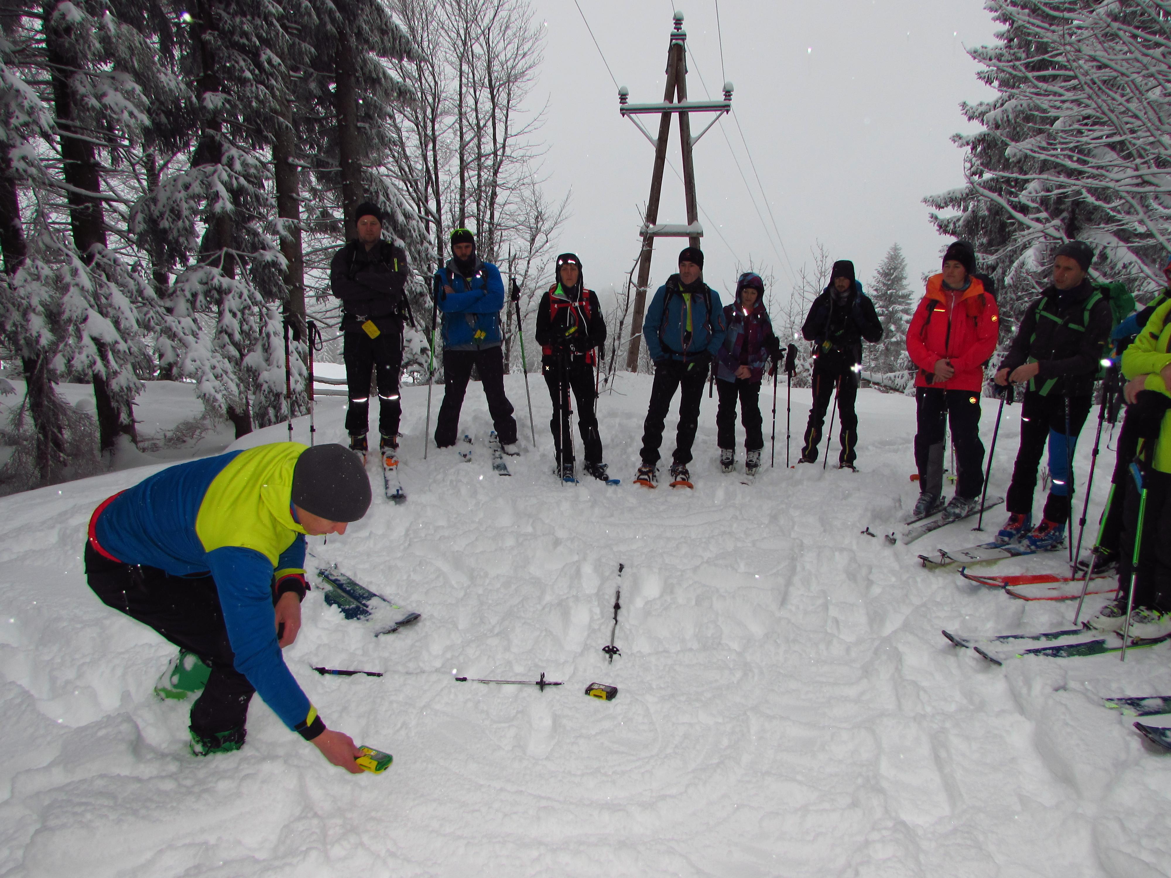 AUSGEBUCHT!!! Schi und Schneeschuhtour auf den Schlenken 1649m mit LVS - Training