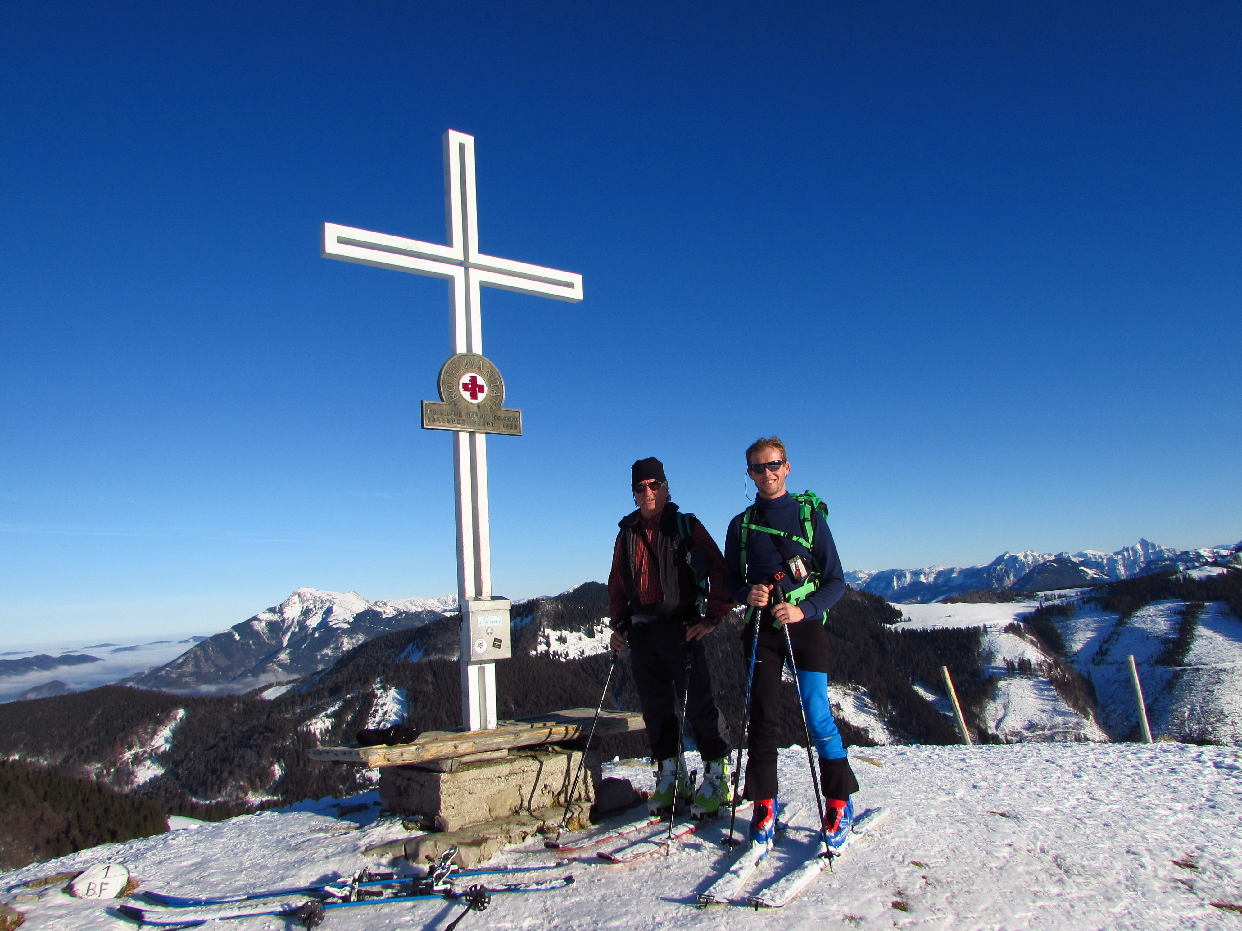 Schitour auf die Loibersbacher Höhe 1456m