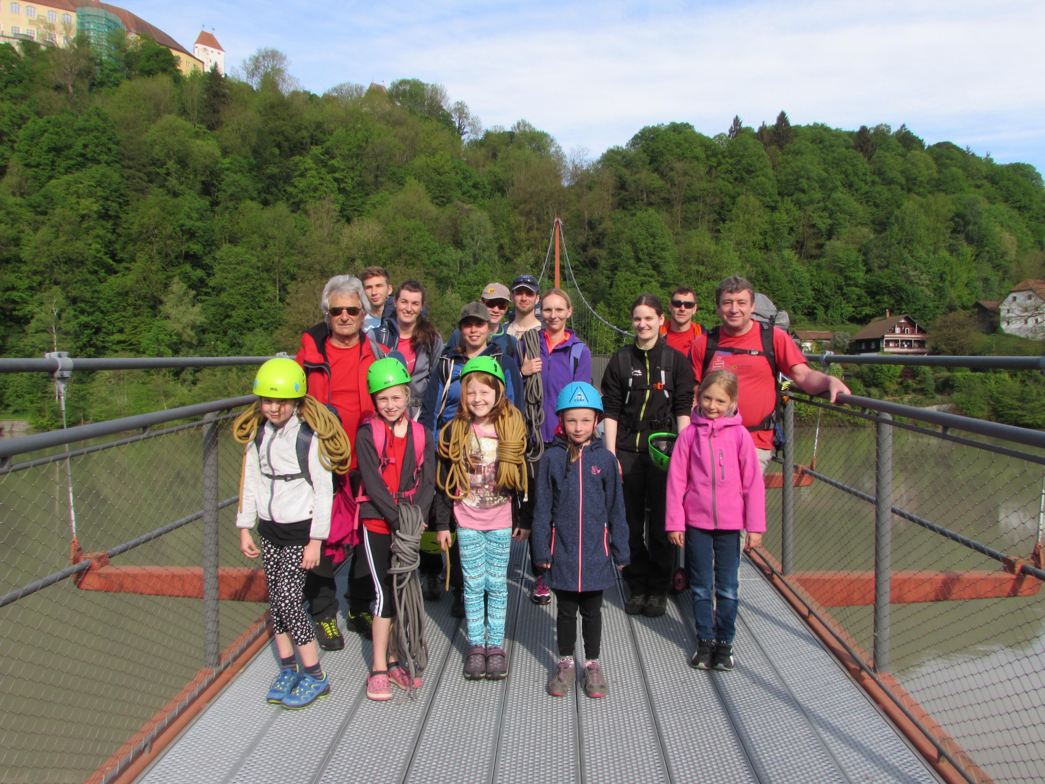 Kletterkurs Neuburg Hanzing