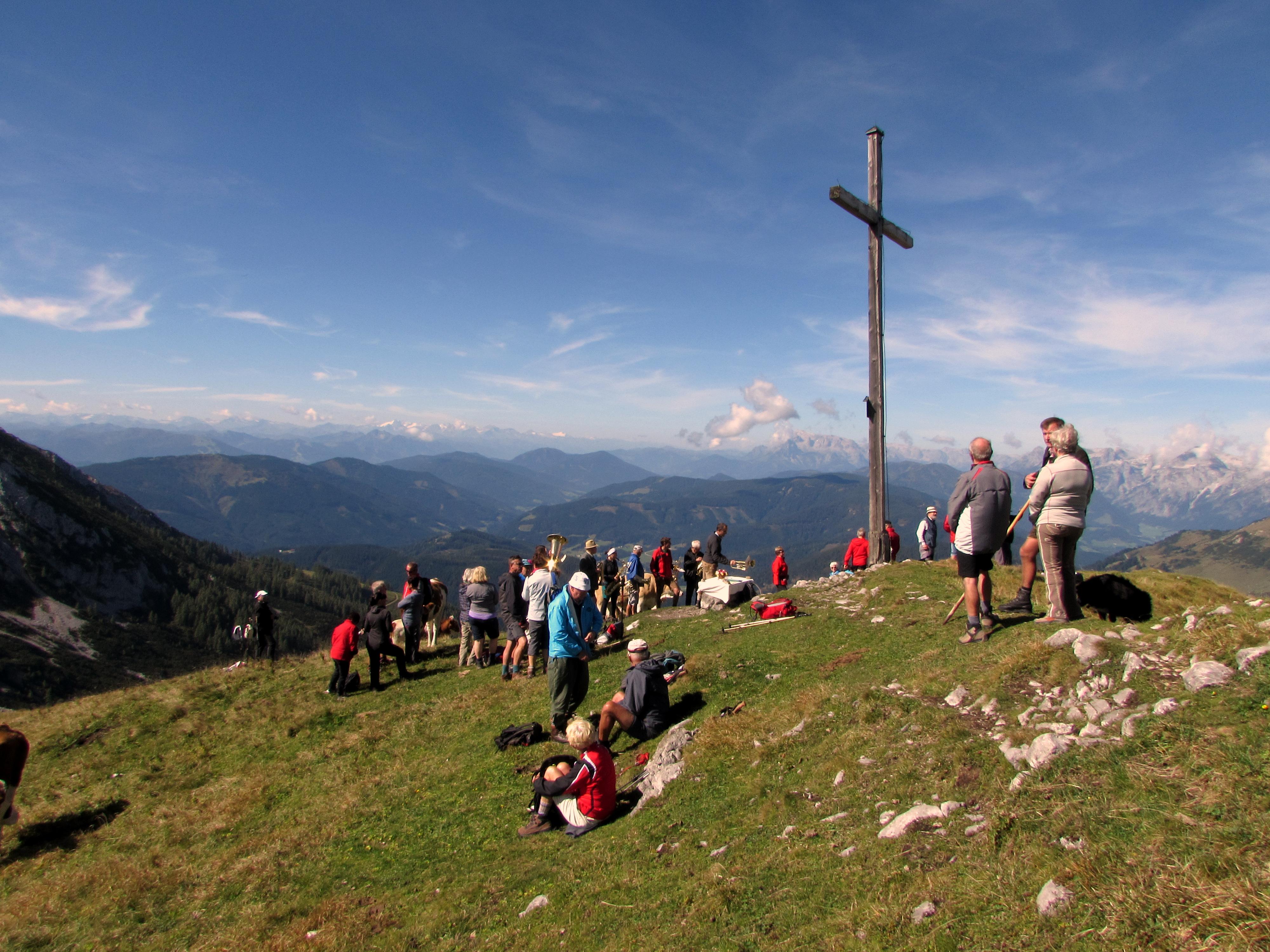 Bergmesse Sulzenschneid 1990 m