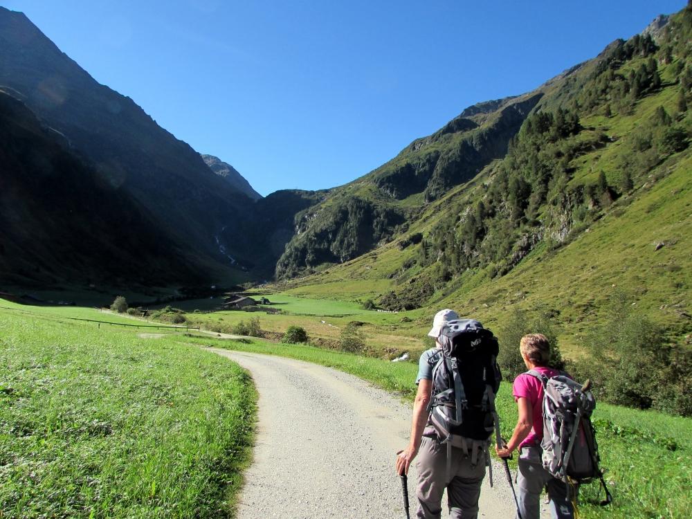 Bergtouren rund um die Nürnberger Hütte in den Stubaier Alpen