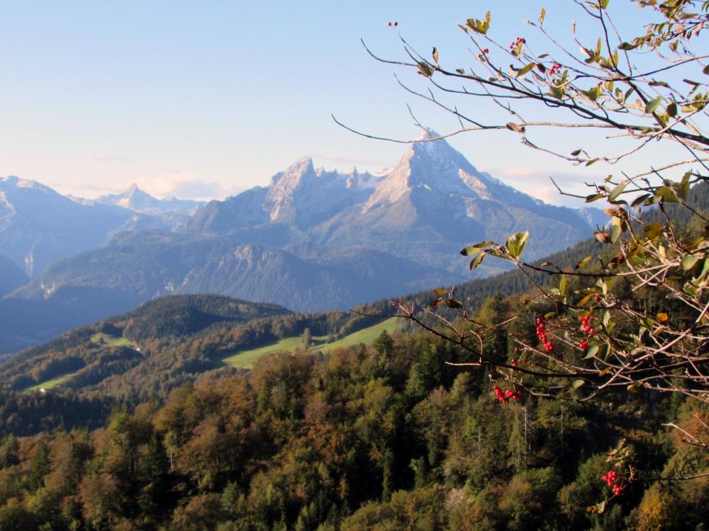 Berchtesgadener Hochthron 1972m Klettersteig