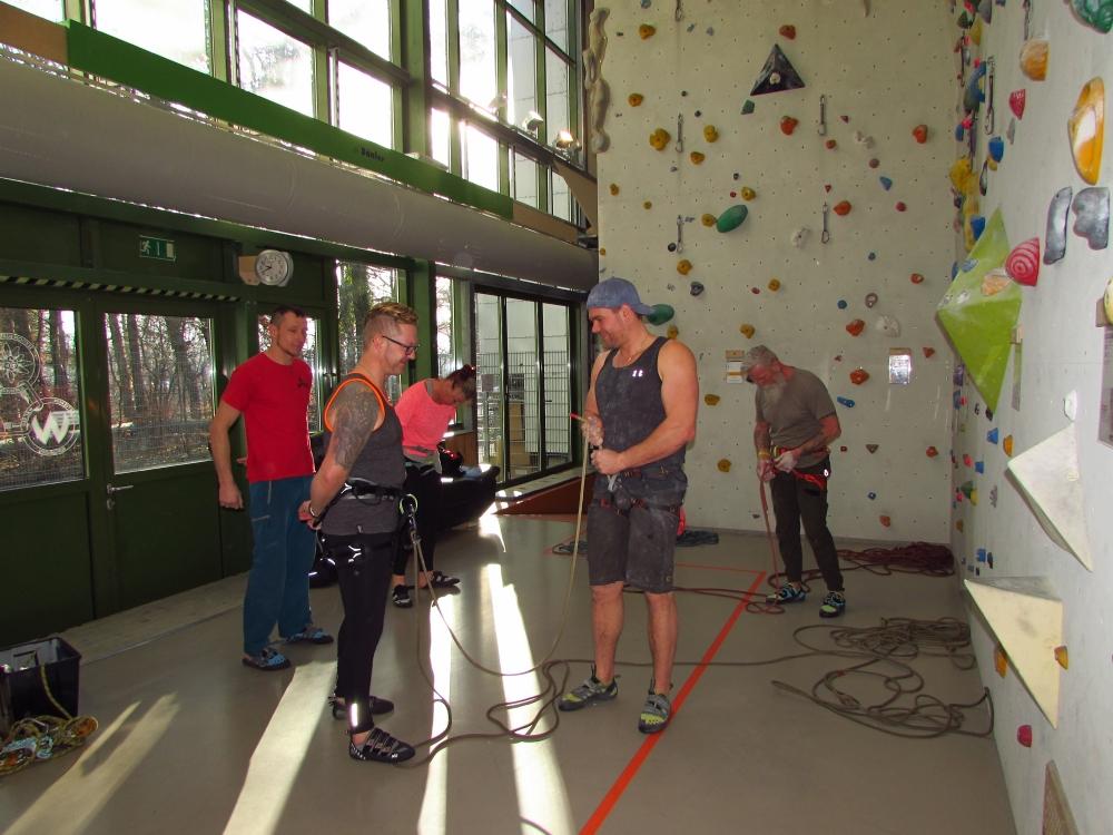 Kletterschein Ausbildung Indoor