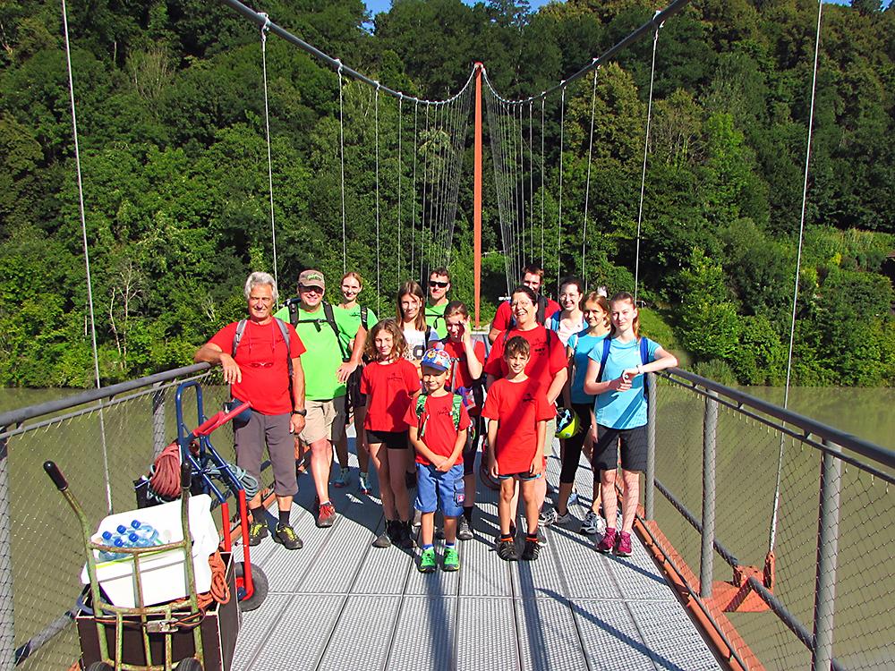 Wochenendausflug der Kletterfreaks - 23. bis 25. Juli