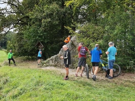 Radeltour zum Teufelstein/Halmstein im September 2019