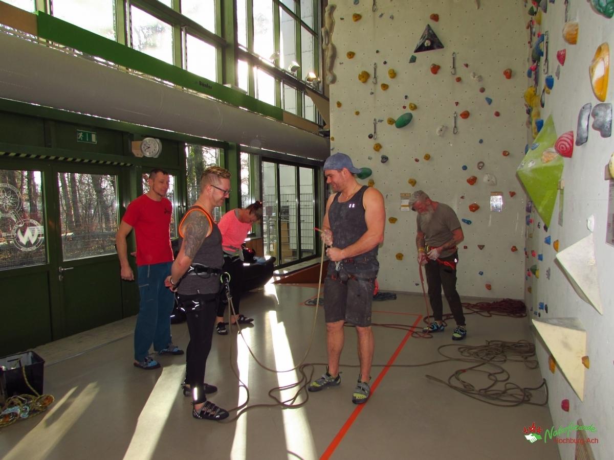 Kletterschein Ausbildung Toprope und Vorstieg