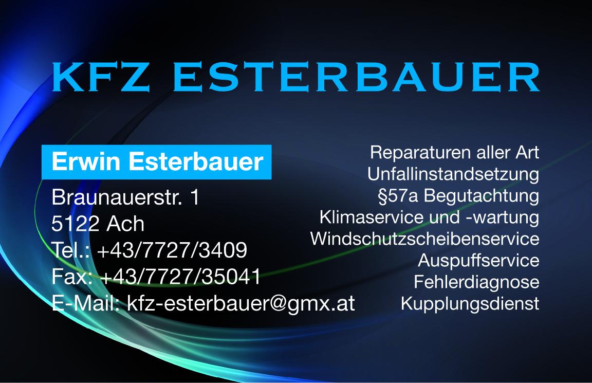 KFZ Esterbauer