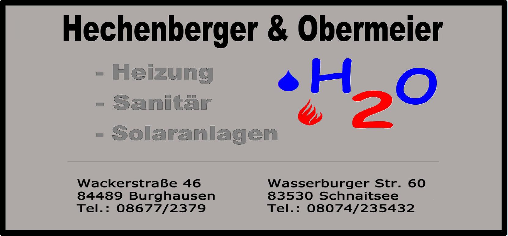 h2o - Hechenberger und Obermeier