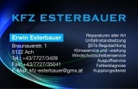 KFZ Esterbauer -  Erwin Esterbauer