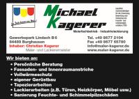 Michael Kagerer Malerfachbetrieb und Industrielackierungen